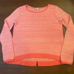 Pink/Orange Gap Sweater
